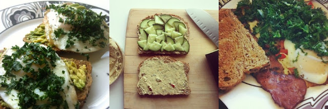 Healthy meals with Dave's Killer Bread