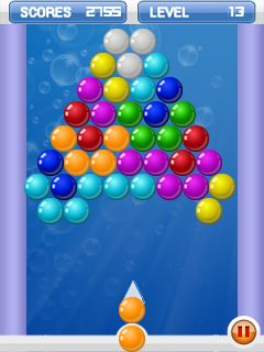 Bubble Shooters 2 For 240x320 Full Touchscreen Java Mobile Game free Spacytrinity Image
