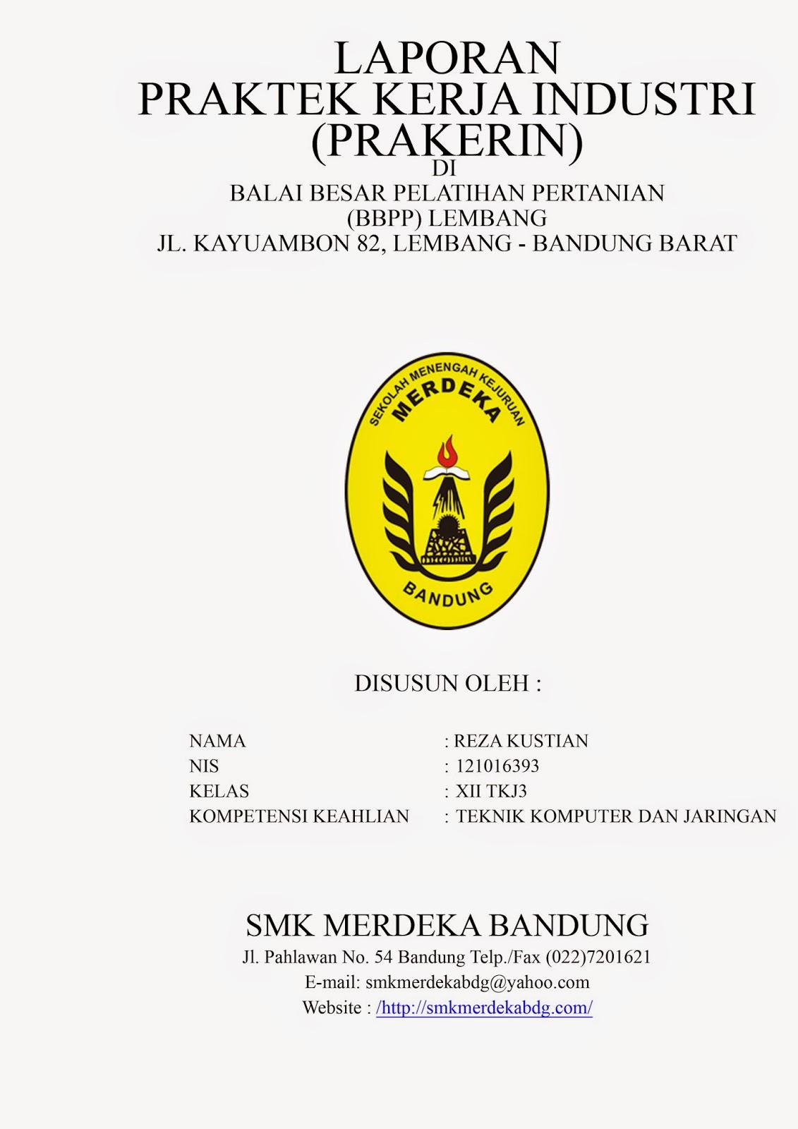 Contoh Makalah Prakerin Praktek Kerja Industri Contoh Laporan Prakerin Tkj 2014 Antel Antel Family