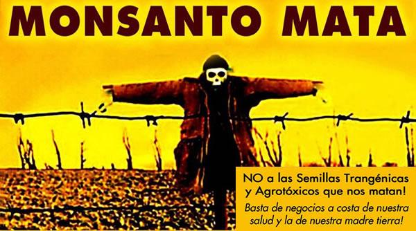 Demandan a Monsanto por crímenes de lesa humanidad