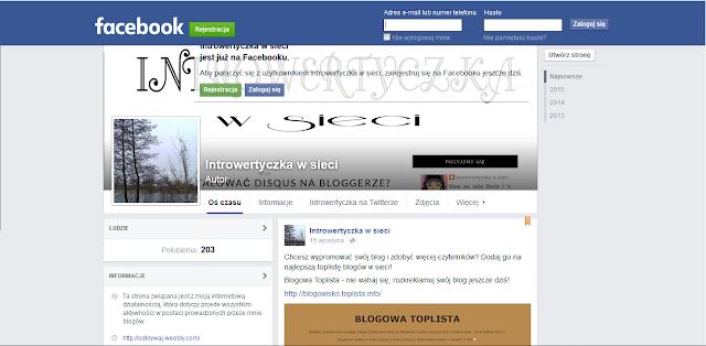 Moja strona na facebooku