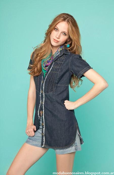 Moda 2013 City Argentina camisolas de verano