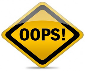 Kesalahan Dalam Menulis Artikel Blog