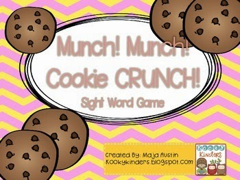 http://www.teacherspayteachers.com/Product/Munch-Munch-Cookie-CRUNCHSight-Word-Game-1306474