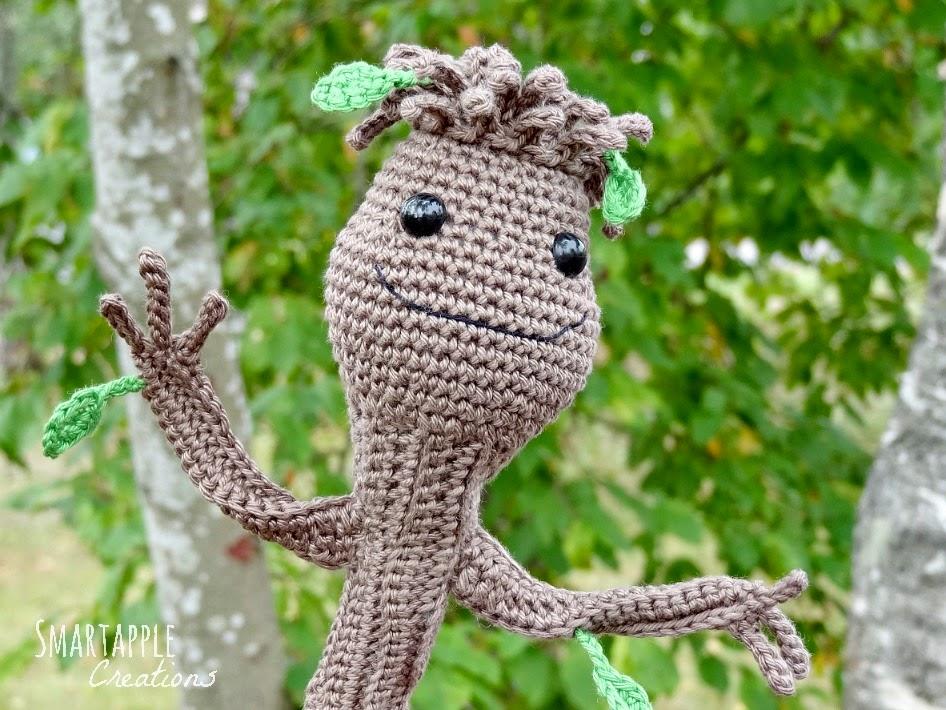 Amigurumi Groot Patron : Smartapple Creations - amigurumi and crochet: Baby Groot ...
