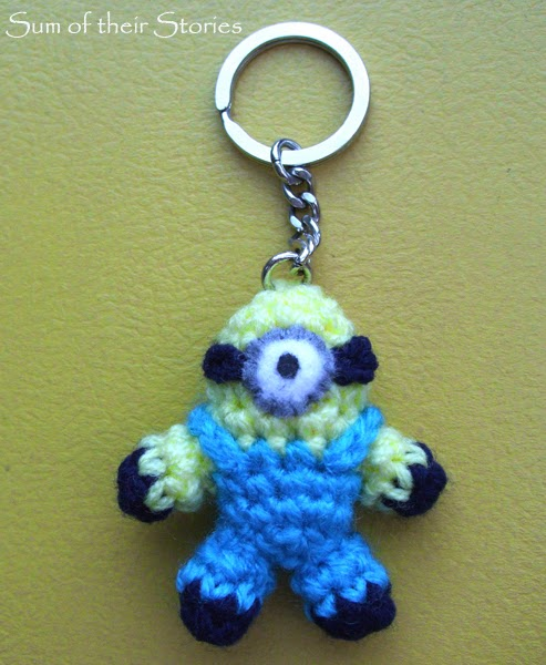 Crocheted Mini Minion