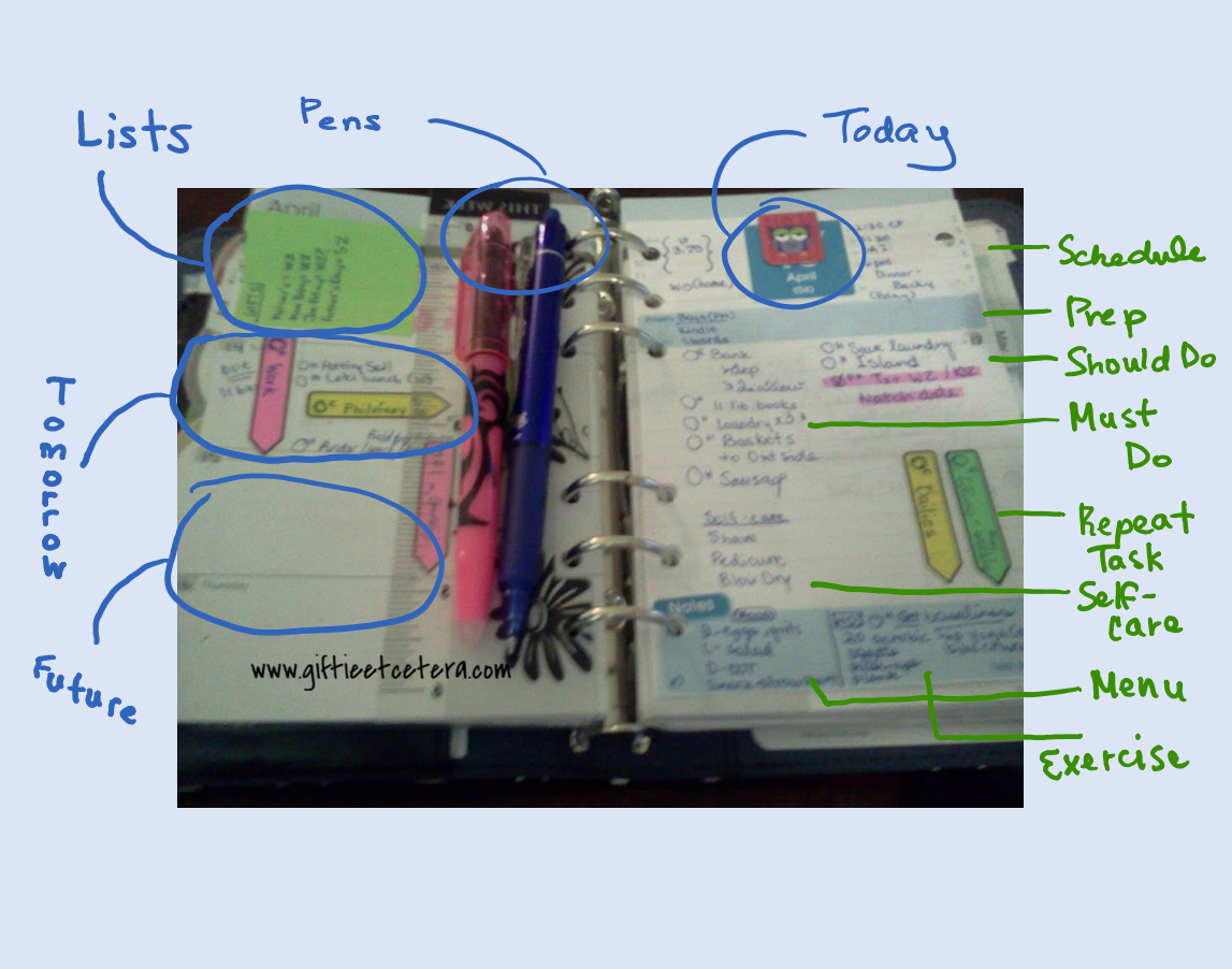 daily docket, daily plan, weekly plan, planner
