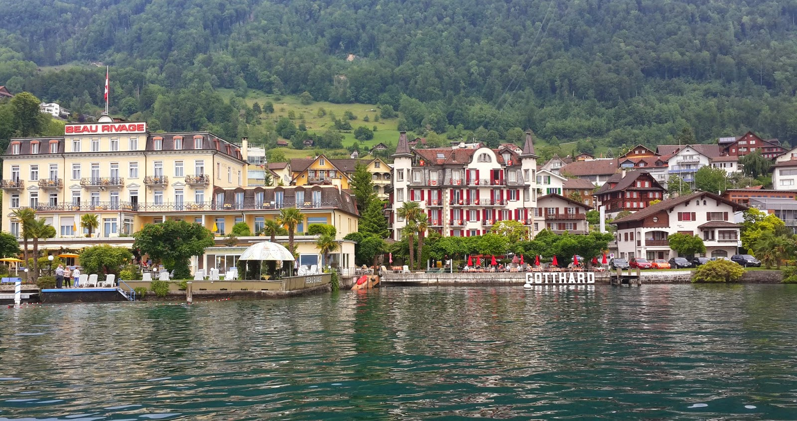 how to get to MT.Rigi from Lucerne