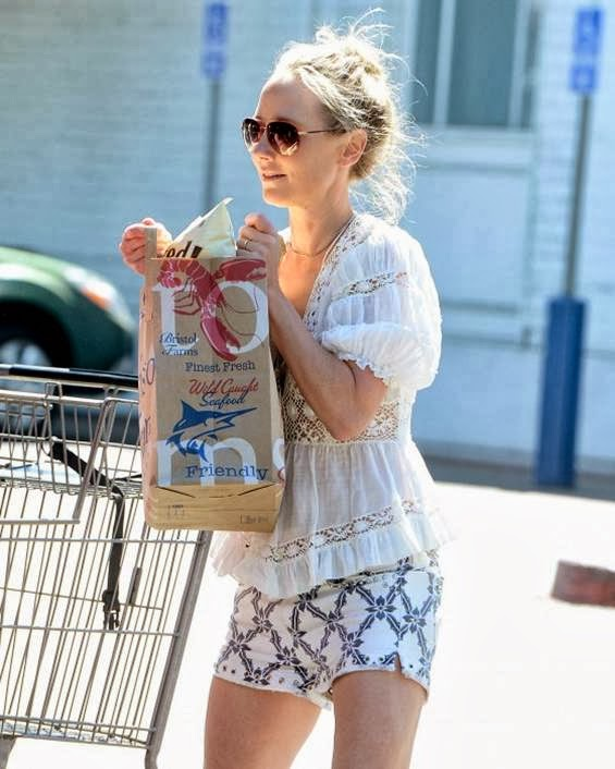 Anne Heche Shopping Candids in LA