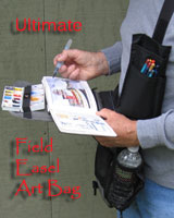 Field Easel Art Bags by Darcie Beck