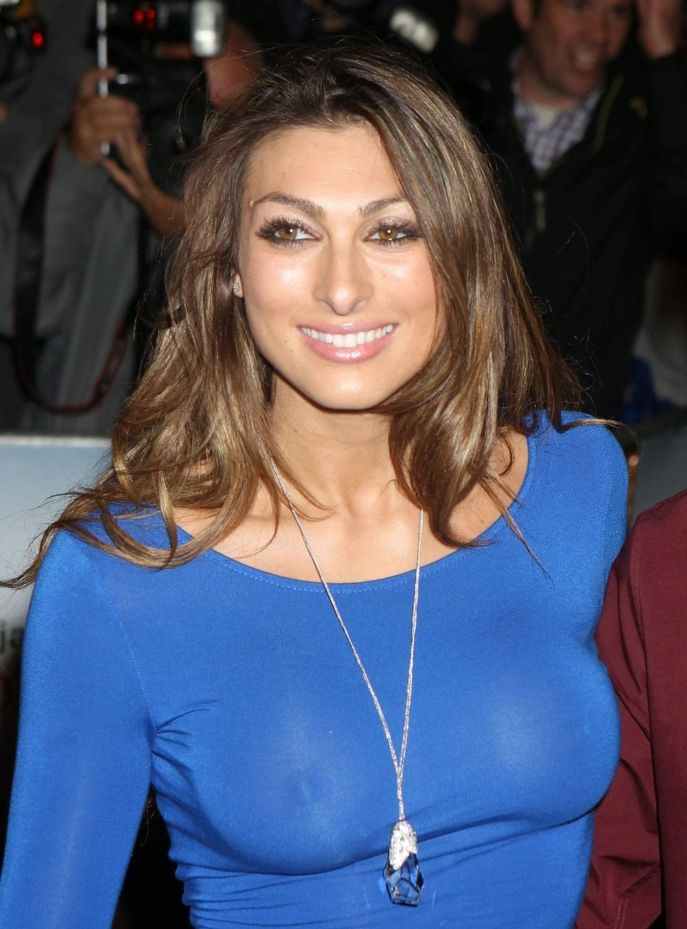 Luisa Zissman Braless Dress Bad Grandpa Premiere in London