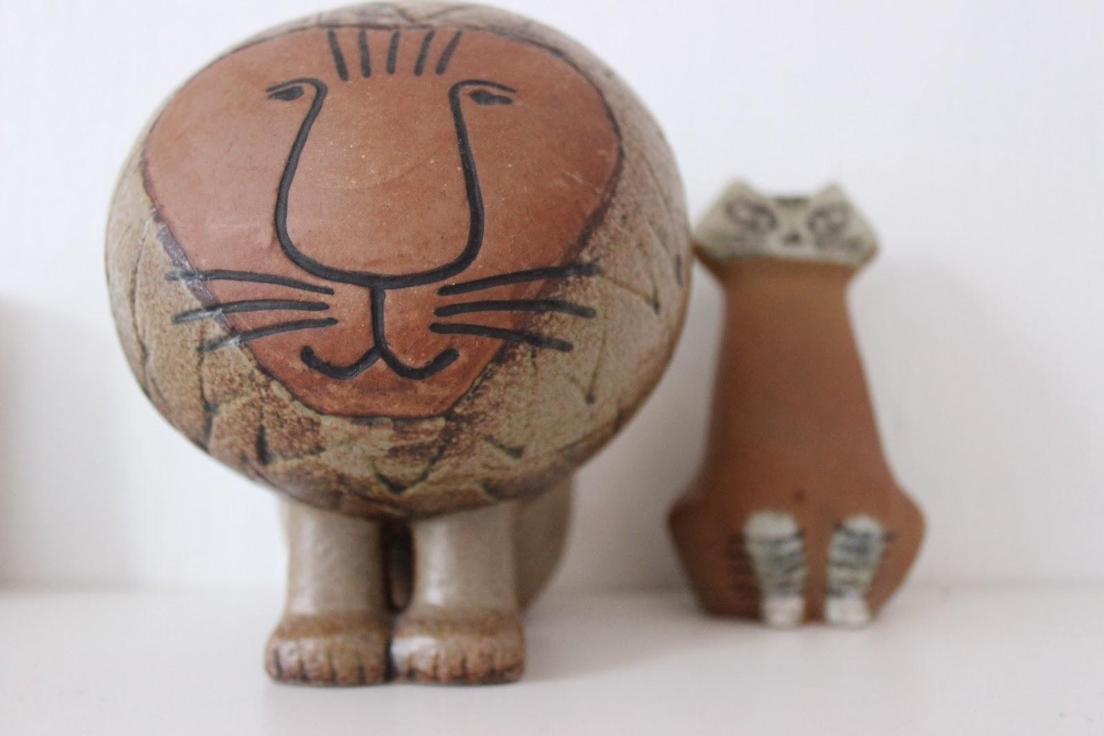 Lisa Larsons katt och lejon