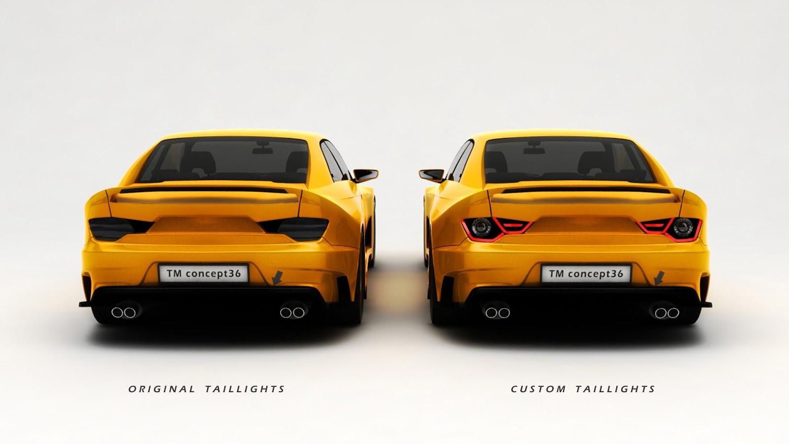 TMcars Strikes Again With 'Modernized' BMW E36 3-Series Costume