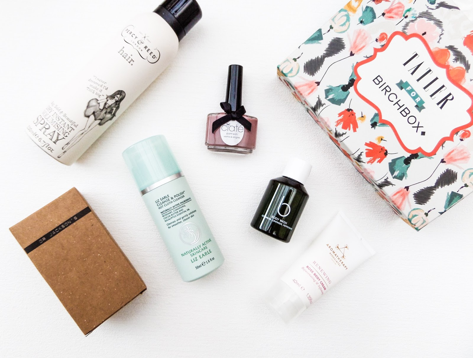 The Inside of Tatler does Birchbox
