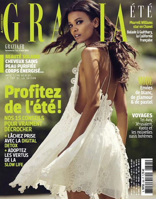 Actress, Model @ Liya Kebede - Grazia France, August 2015