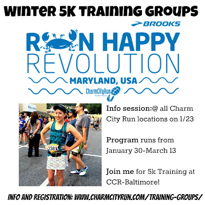 Charm City Run Winter 5K Training
