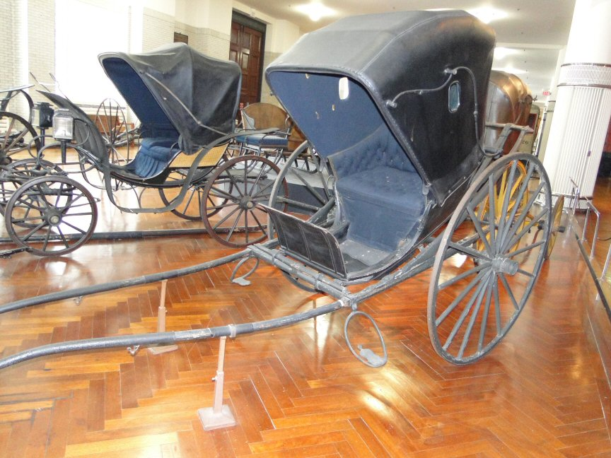 Passion for the past more americana at the henry ford museum for Chaise carriage