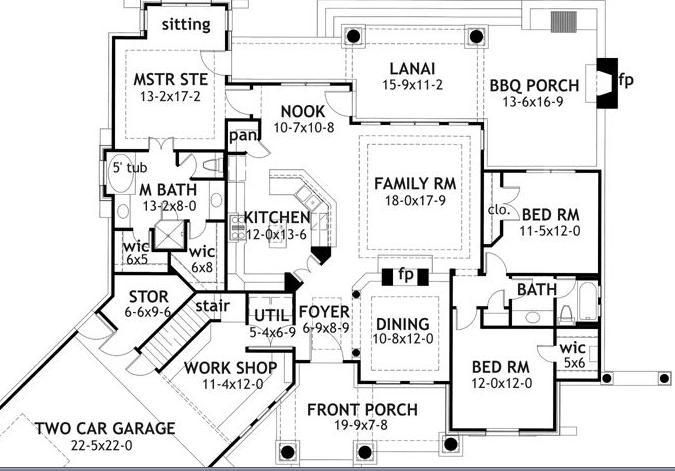 Planos de casas modelos y dise os de casas planos de for Casas en ele planos