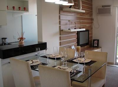 apartamento pequeno sala integrada