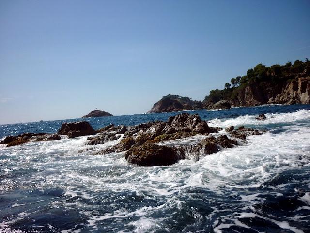 escursione da tossa del mar