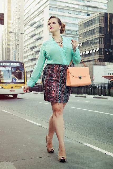 Moda Plus Size - Cintura Marcada