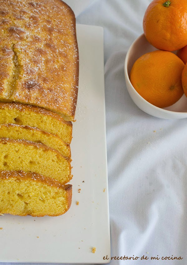 plum cake de naranja