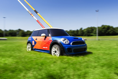 Olympics to use Mini Cooper R/C cars for javelin, discus retrieval