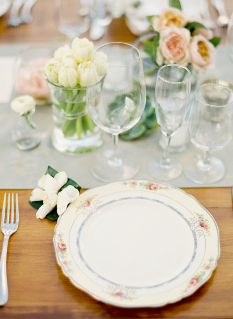 decoracion mesa boda granero