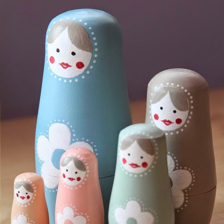 Design your own Russian dolls