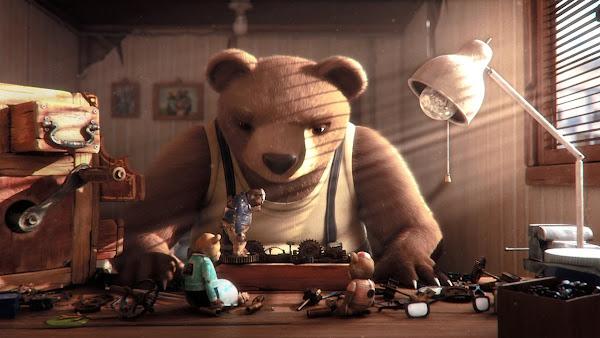 Historia de un Oso, Chile, Óscar, animación