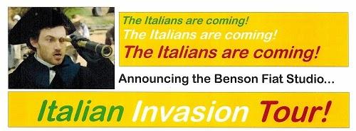 Benson FIAT Italian Invasion Tour