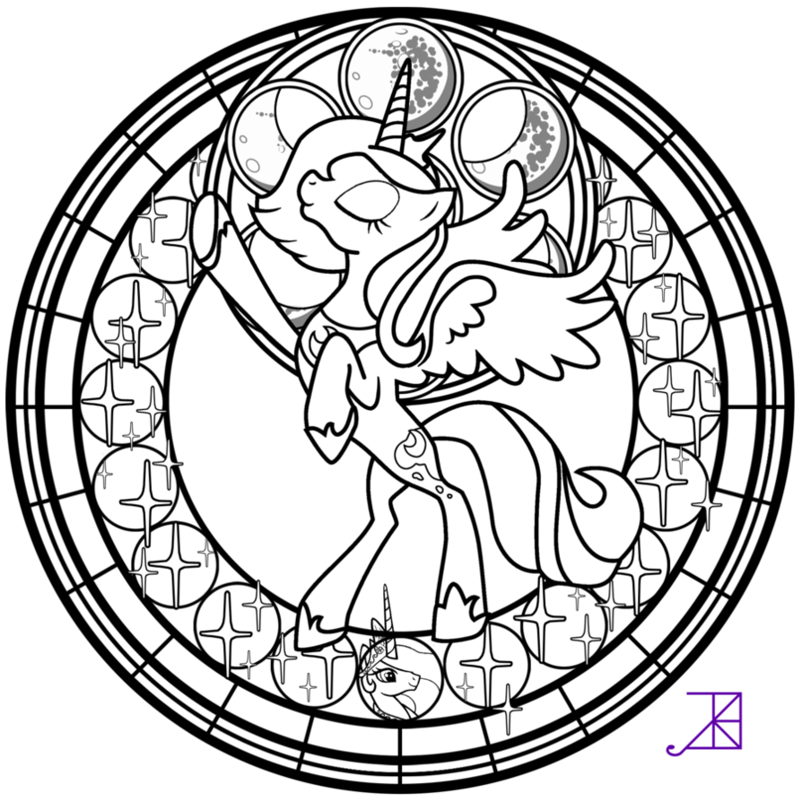 My Little Pony in addition My Little Pony Coloring Pages Coloring Pages For Girls 17 2 furthermore Design And Draw Your Own My Little Pony additionally 360076932678164003 together with Stained Glass 28. on nightmare trixie