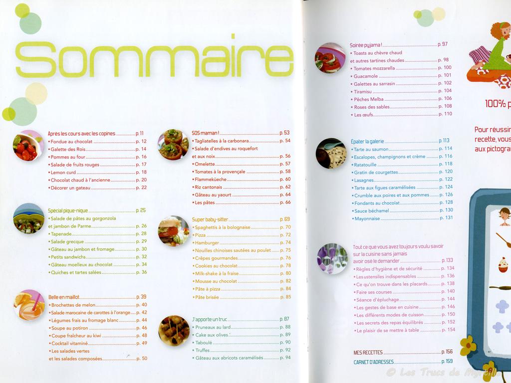 La cuisine de myrtille la cuisine des filles guides du - Livres de cuisine thermomix ...
