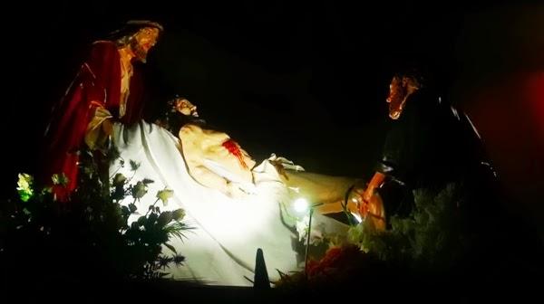 Paso del Traslado al Sepulcro. Real hermandad de Jesús Divino Obrero. León. Foto J.A. Márquez.