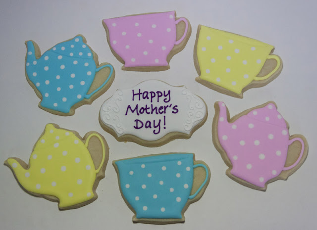 Mother's Day Tea Party Cookies