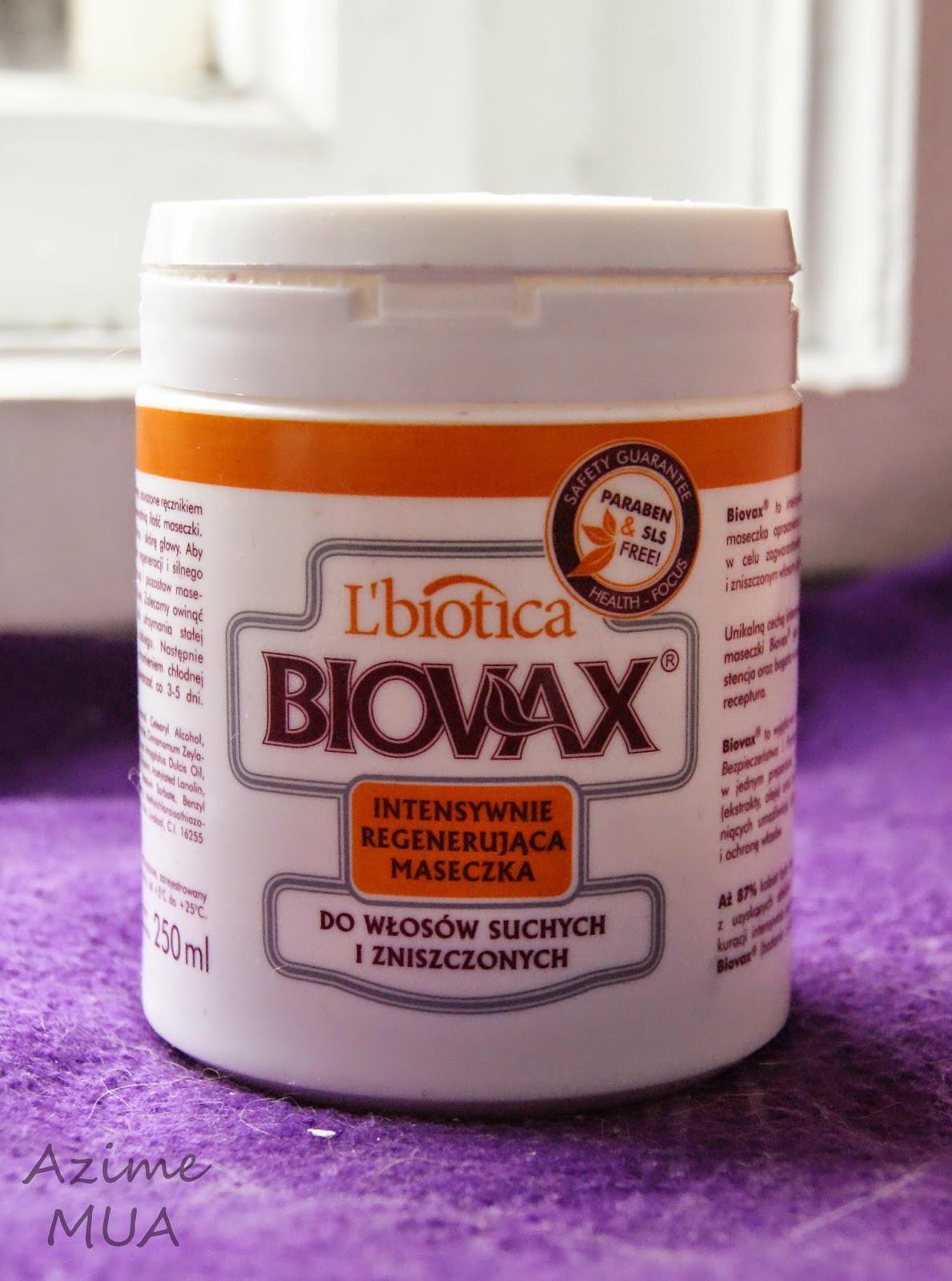 [117.] Intensywnie regenerująca maseczka Biovax do włosów suchych i zniszczonych- recenzja.