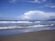 Ocean Beach was beautiful. Over this coast is Japan!
