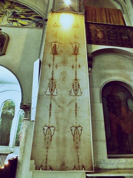 giulgiul din torino la biserica italiana bucuresti