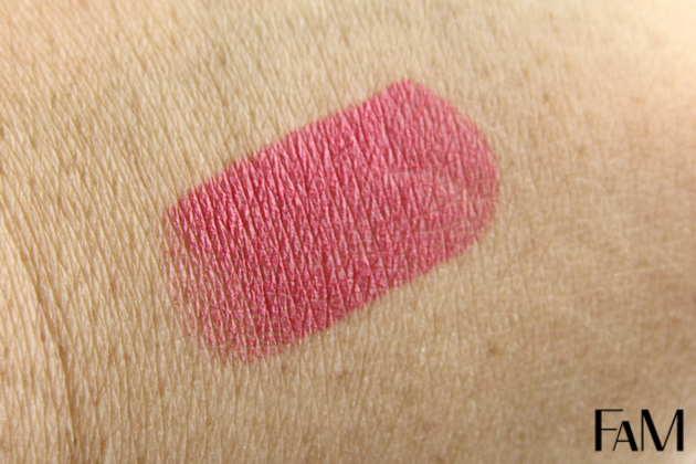 Mac pink lipstick Chatterbox - Review and Swatch