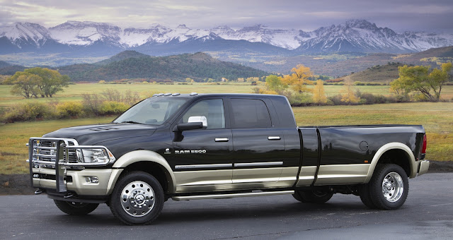 New Ram Long-Hauler Concept pick-up Concept