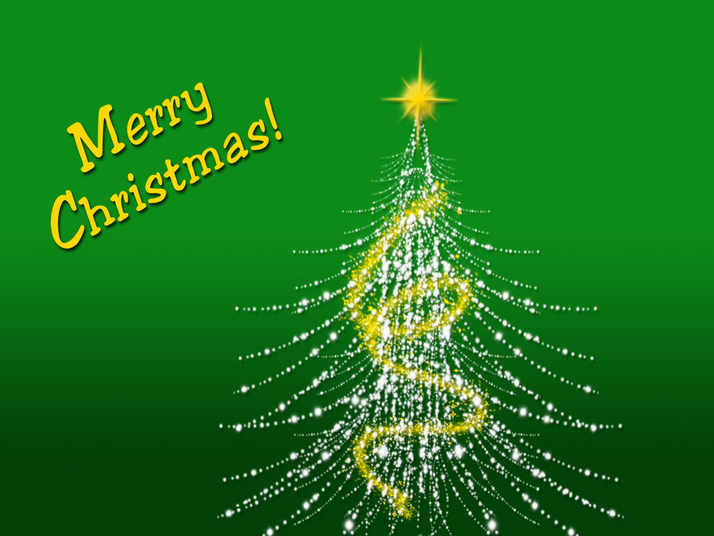 IRBOB SEVENFOLD: Green Merry Christmas wallpaper
