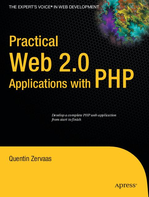 Apress Practical Web 2.0 Applications with PHP