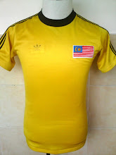Vintage Tribute to Malaysia Jersey 1980s