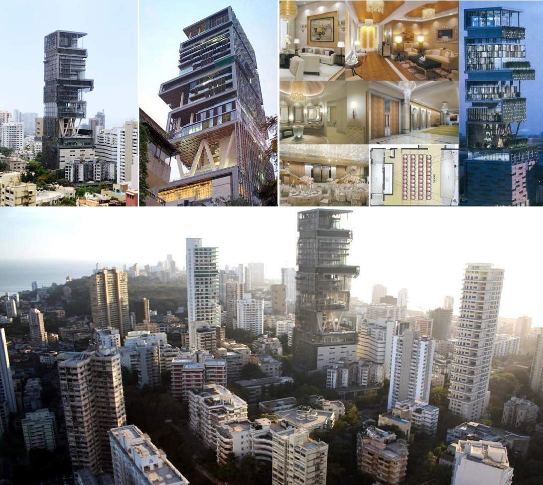 As mansões mais caras do mundo #3A5E91 1090x975