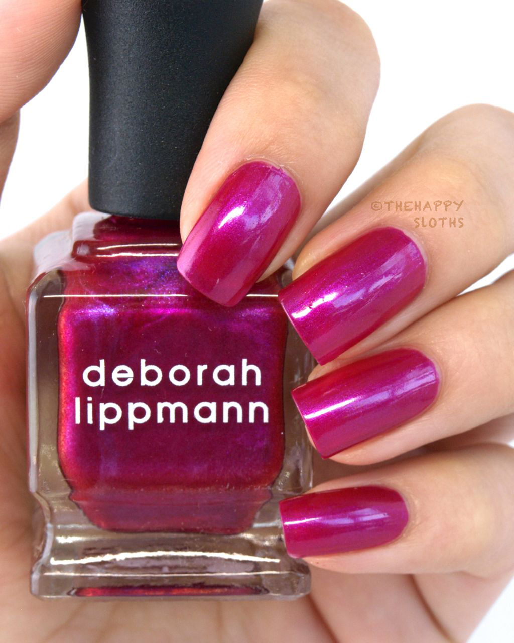 Deborah Lippmann Holiday 2014 Collection Dear Mr. Fantasy Review and Swatches
