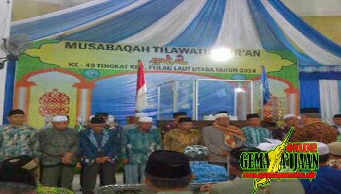 21 Desa Unjuk Kebolehan di MTQ Kecamatan