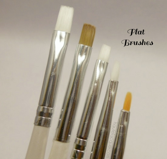 Haute Lacquer Nail Art Brushes I Use