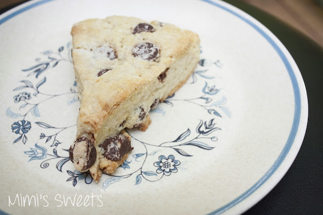 Dairy Free Chocolate Chip Scones