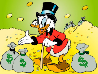 Greedy Uncle Scrooge