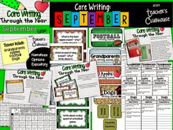 http://www.teacherspayteachers.com/Product/Core-Writing-Through-the-Year-September-1277777